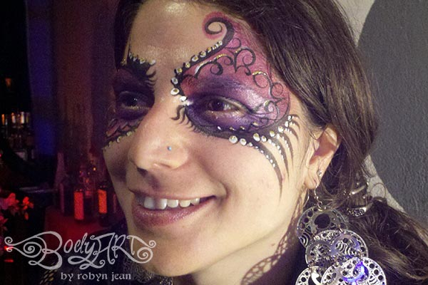 Bay Area Face Painters Adult Face Painting Birthday