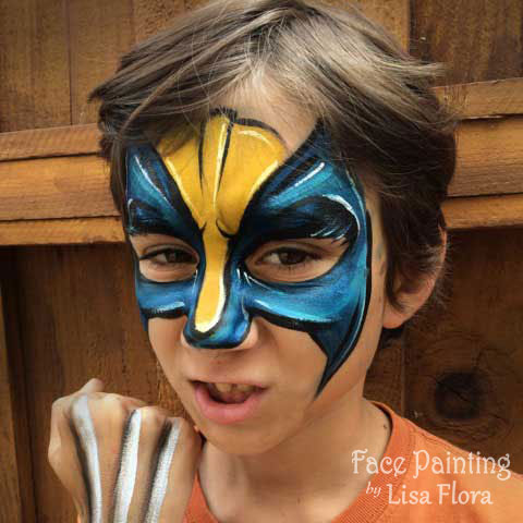 Bay area face painters for Face painting rates